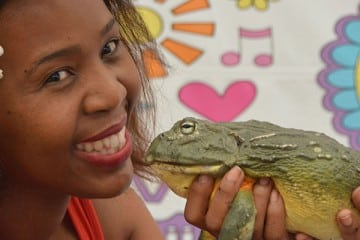 SAVING SOUTH AFRICAN FROGS - ONE CROAK AT A TIME!