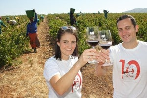 YOUNG WINE, DELICIOUS FOOD AND FUN AT NEDERBURG DURING OMMIBERG 2017