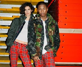 THE WORLD OF PHARRELL WILLIAMS AND G-STAR RAW FUSE IN THE LAUNCH OF THE S/S '17 CAMPAIGN