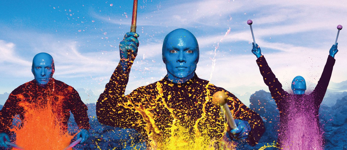 BLUE MAN GROUP BRINGS WORLD TOUR TO GRANDWEST