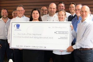 SACA DONATES R130 000 TO OUR KIDS OF THE CAPE