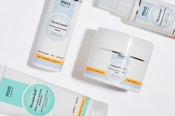 YOU HAVE THE RIGHT TO BEAUTIFUL SKIN WITH MIO MOISTURISING MIRACLES