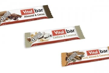VITAL INTRODUCES DELICIOUS ON-THE-GO SNACKS