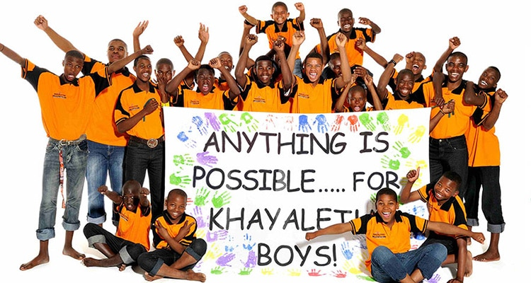 OFF THE STREET AND INTO A FAMILY: KHAYALETHU YOUTH CENTRE UPLIFTS BOYS IN PORT ELIZABETH