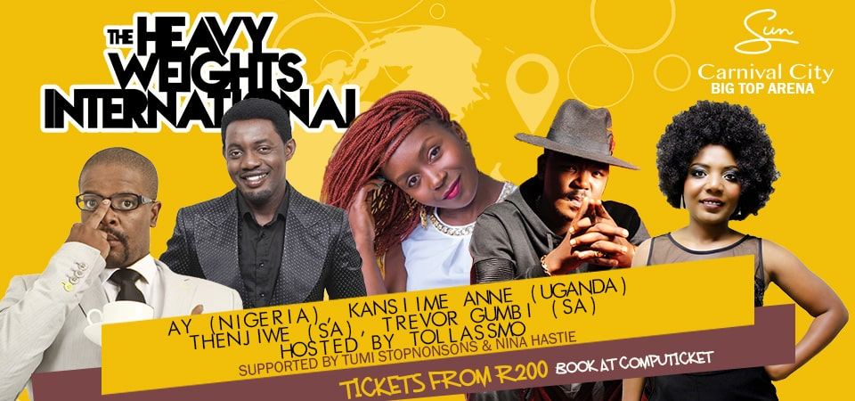 THE HEAVYWEIGHTS INTERNATIONAL COMEDY SHOW IN SUPPORT OF #StopXenophobia