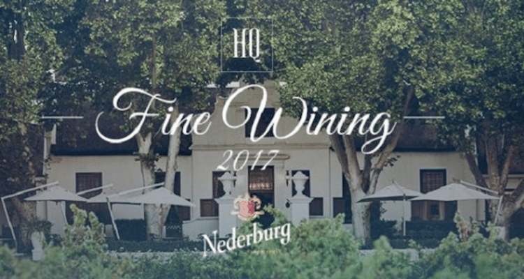 HQ HOSTS MONTHLY FINE WINING DINNER, WITH NEDERBURG