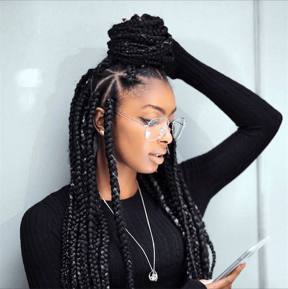 Asap rocky box braids
