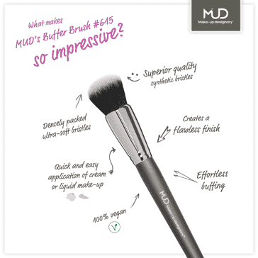 MUD'S NEW BRUSHES #615 & #620
