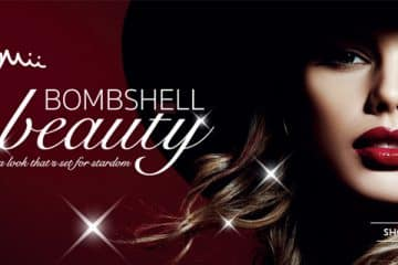 MII COSMETICS BOMBSHELL BEAUTY - LOOK SET FOR STARDOM
