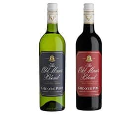 GROOTE POST'S THE OLD MAN'S BLEND WINES IDEAL FOR FATHER'S DAY
