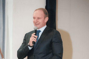 FRANCOIS PIENAAR ADDRESSES CHRISTEL HOUSE SCHOOL BUSINESS BREAKFAST