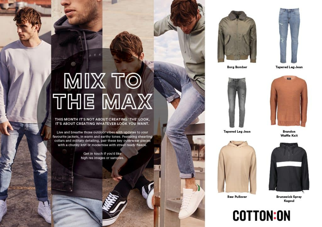 Celebrate your winter look with Cotton On