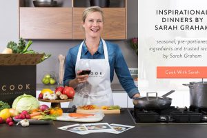 Heat up the kitchen with UCOOK and Sarah Graham