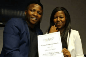 YOUNG COMMUNITY LEADER AWARDED INTERNATIONAL SCHOLARSHIP TO UFS