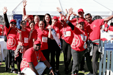 MISS SA AND GRANDWEST WALK TO FEED HUNGRY CHILDREN