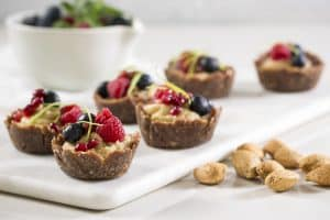 CASHEW & ALMOND BERRY TARTLETS