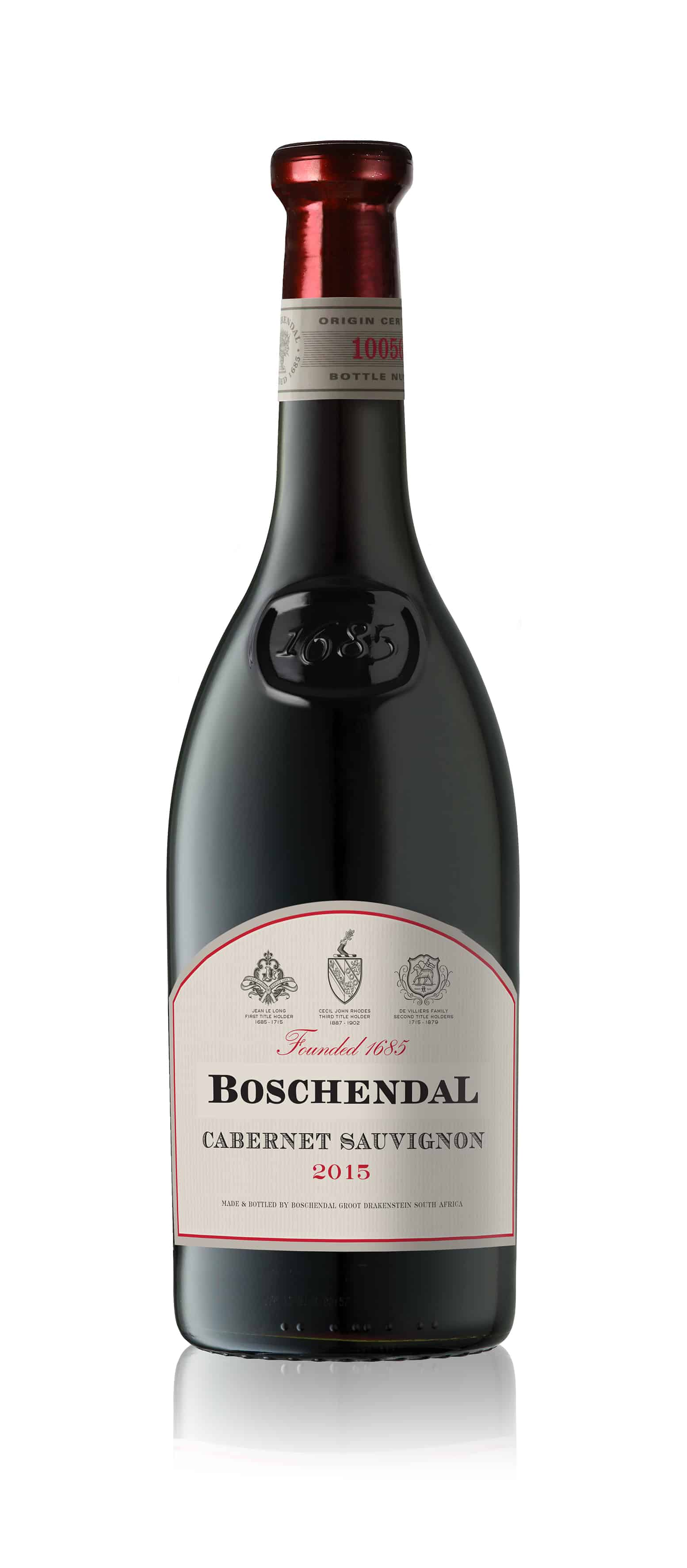 Boschendal s new 1685 cabernet sauvignon is perfect for for Boschendal wine