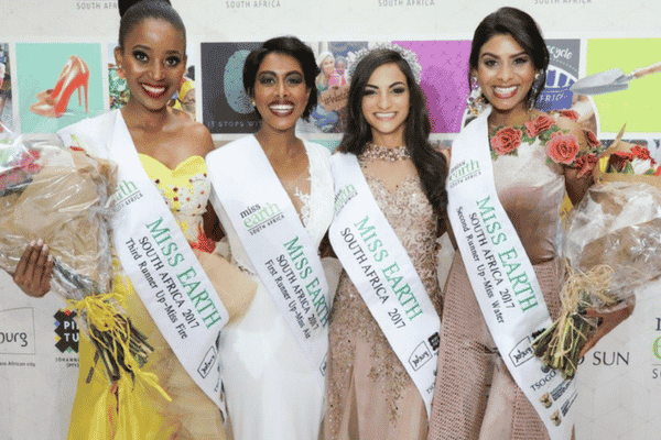 IRINI TAKES THE GREEN SASH - MISS EARTH SOUTH AFRICA 2017 ANNOUNCED
