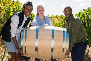 THREE CAPE WINEMAKERS GUILD PROTEGES HEAD FOR HARVESTS IN FRANCE AND THE USA