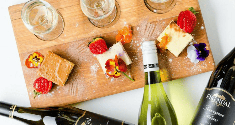 EIKENDAL VINEYARDS SWIRLS CHEESECAKE & WINE PAIRINGS THIS SUMMER