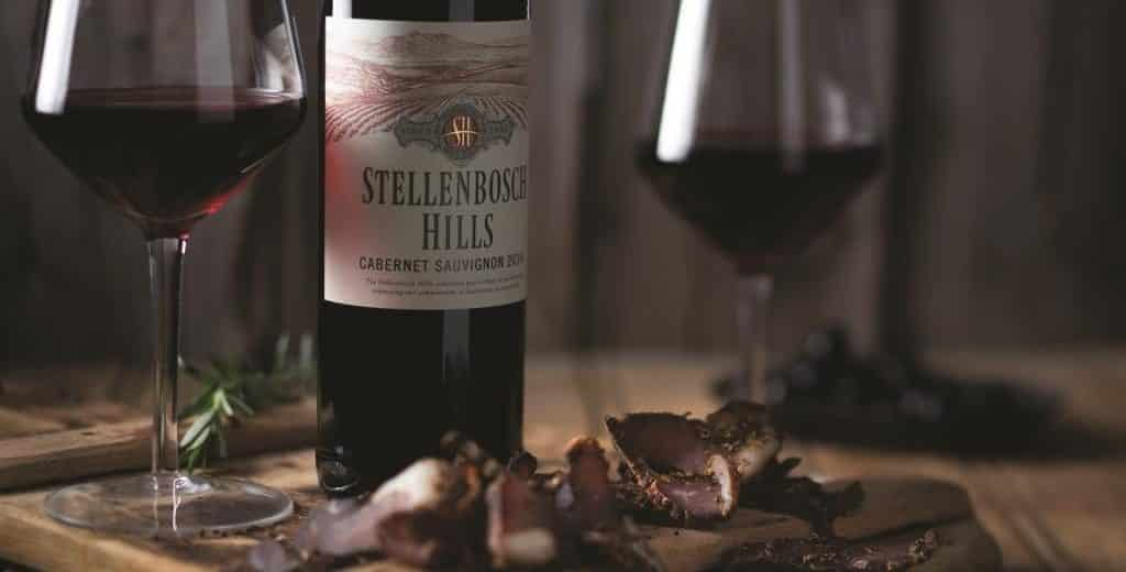 Stellenbosch Hills introduces Bacon to their popular Biltong pairings