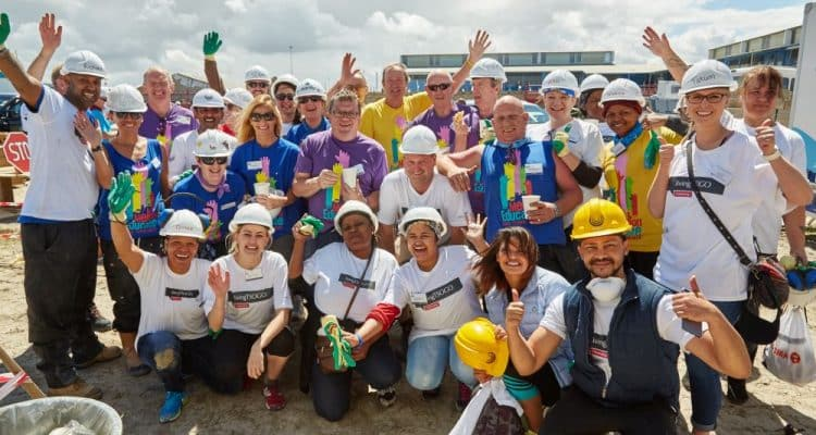 Tsogo Sun joins the Mellon Educate Building Blitz in Cape Town