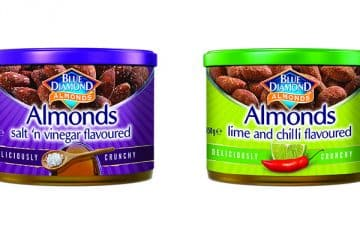 WIN WITH BLUE DIAMOND ALMONDS, A HEALTHIER SNACKING ALTERNATIVE