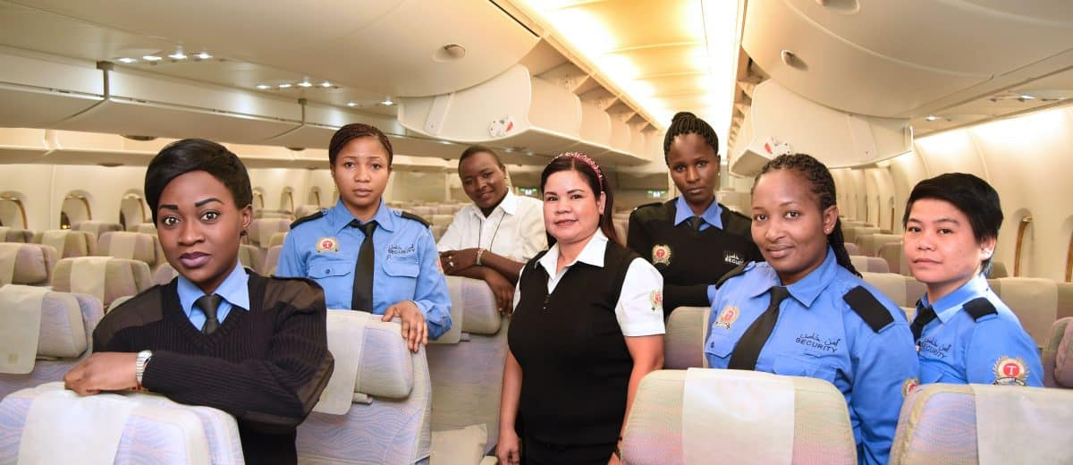 Emirates Female Employee's centre stage on International Women's Day