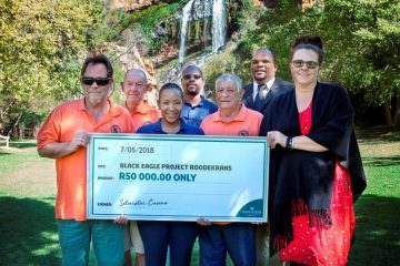 SILVERSTAR HONOURS COMMITMENT TO BLACK EAGLE PROJECT