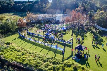 FALKE WINE ADVENTURE TRAIL RUN AT WARWICK