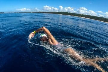 SA SWIMMER CONTINUES FIGHT AGAINST PLASTIC