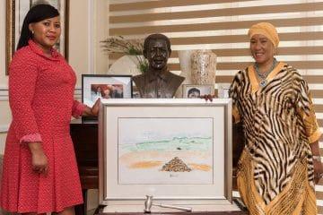 Dr MAKI MANDELA TELLS OF TREASURED MADIBA MEMORIES GOING ON CHARITY AUCTION