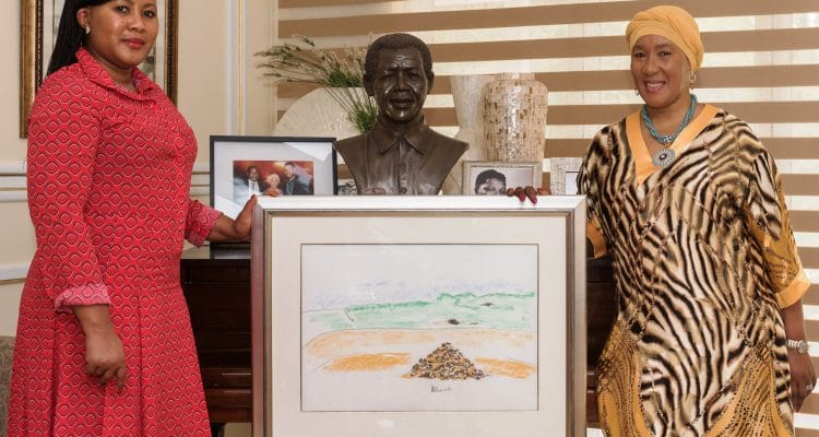 Dr MAKI MANDELA TELLS OF TREASURED MADIBA MEMORIES GOING ON CHARITY AUCTION