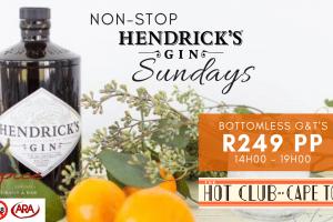 HENDRICK'S GIN SUNDAYS