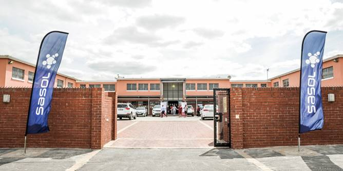 Manyano High School in Khayelitsha