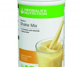 HERBALIFE NUTRITION SOUTH AFRICA LAUNCHES NEW FORMULA 1 FLAVOUR – BREAKS NEW GROUND