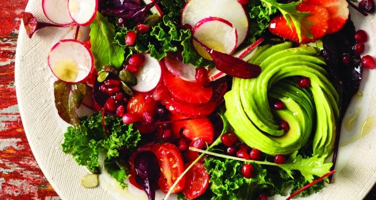 THE TABLE BAY'S TASTY SALAD FOR JANUARY DETOX-ERS