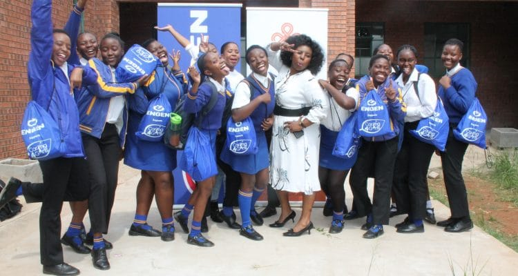ENGEN SUPPORTS CARING4GIRLS AT LEKETE SECONDARY SCHOOL