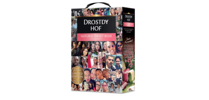 IS YOUR PHOTOGRAPH FEATURED ON DROSTDY HOF'S LIMITED EDITION BOX WINES?
