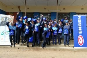 ENGEN SUPPORTS CARING4GIRLS AT TSWELELOPELE HIGH SCHOOL