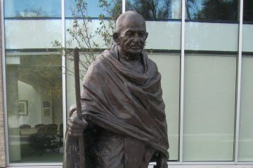 CITY CALLS FOR COMMENT ON GANDHI STATUE DONATION