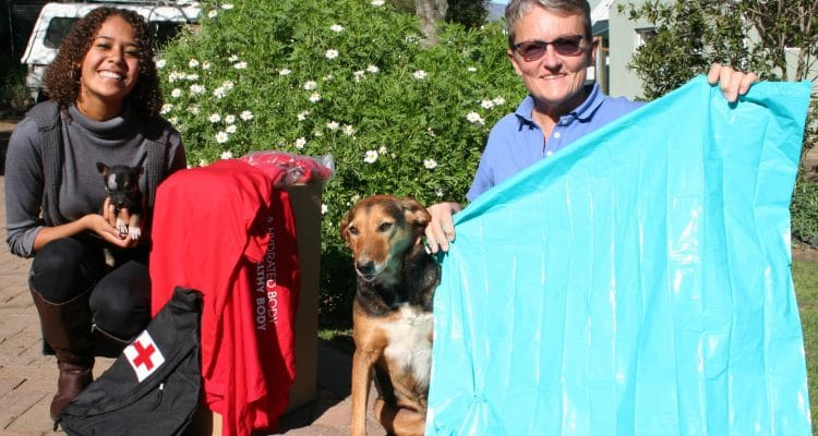 ANIMAL WELFARE SOCIETY OF STELLENBOSCH WELCOMES STILLWATER SPORTS DONATION IN TIME FOR MANDELA DAY
