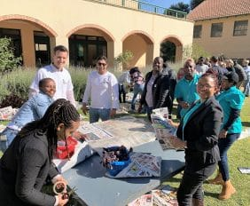 Converting waste into warmth this winter for Mandela Day