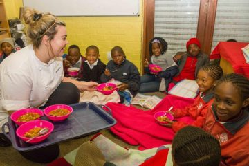 LA COLOMBE TURNS MINUTES INTO MEALS FOR MANDELA DAY