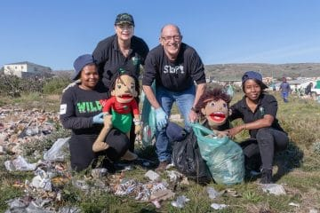 Sanctor children do their part for Mandela Day