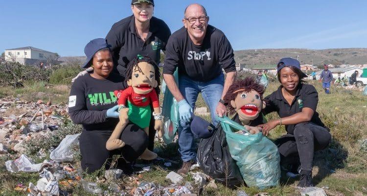 Sanctor children do their part for Mandela Day