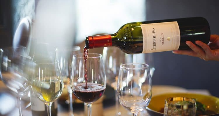 RED WINE RENDEZVOUS AT STEENBERG'S BISTRP SIXTEEN82