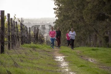 STEENBERG TOASTS SPRING WITH ANNUAL TRAIL RUN