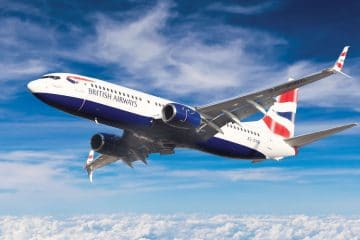 Best in the Sky: British Airways (operated by Comair) voted best at the Sunday Times Top Brand Awards 2019
