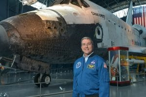 ASTRONAUT ON 2019 SPACE TOUR TO INSPIRE MARS GENERATION